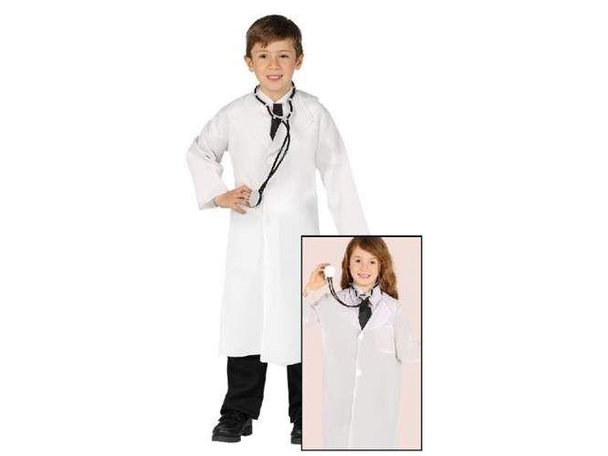 Strój , przebranie Lekarza , Doktora dla dzieci , wiek 5-6 lat zdjęcie 1