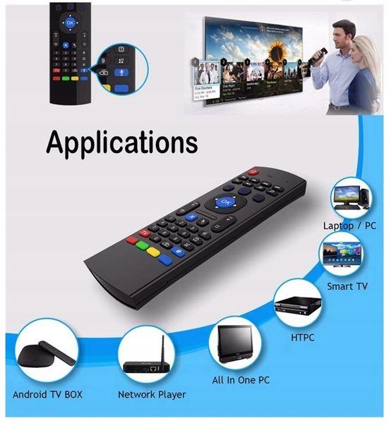 Pilot MX3 PRO Smart TV Air Mouse BOX TV Z MIKROFON zdjęcie 6