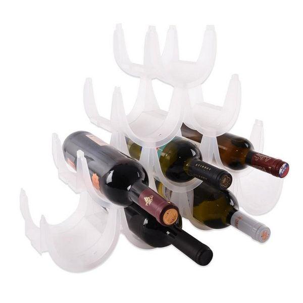 Stojak WINO regał na butelki wina - 10 butelek zdjęcie 2
