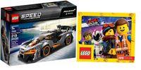 LEGO SPEED CHAMPIONS 75892 McLaren Senna + KATALOG