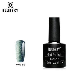 Bluesky Seria YYF11 Glitter Range Light Forest Green 10ml