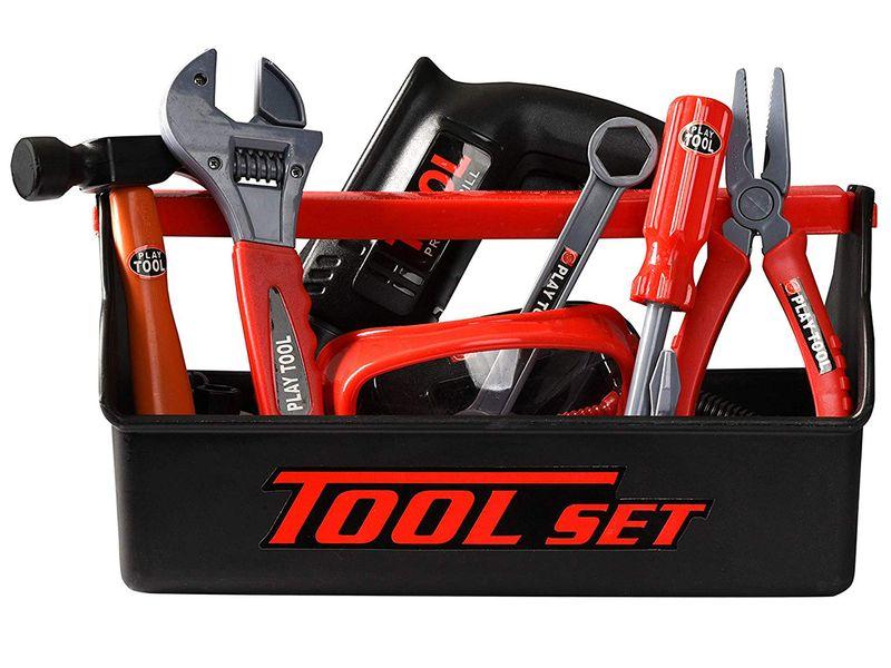 Skrzynka z narzędziami Dla Dzieci Wiertarka Warsztat Walizka Y160 zdjęcie 3