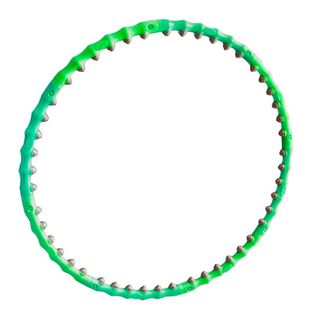 Hula hoop z masażem Allright zielony