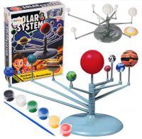 Solarny System Układ Planetarny do pomalowania + Farby Planety U105