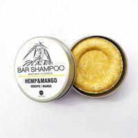 Herbs&Hydro szampon w kostce konopie z mango 55g - Puszka