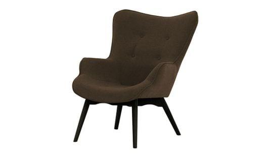 Fotel uszak Ducon Ontario 29 brązowy, nogi czarne