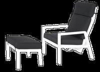 Fotel rozkładany z podnóżkiem Zoya 67x83x103 cm