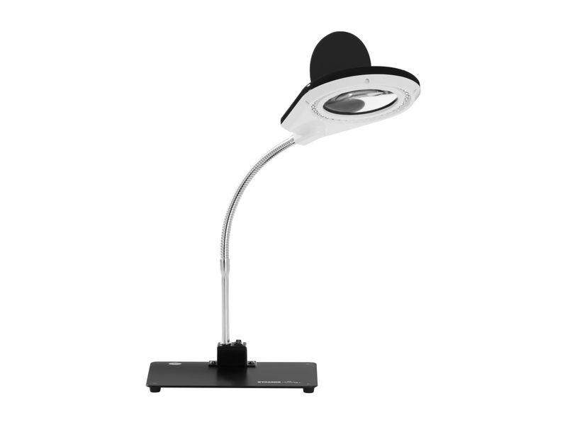 Lampa z lupą - 5 / 10-krotne powiększenie - czarna Stamos S-LP-3S zdjęcie 1