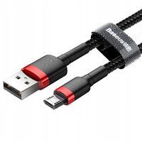 BASEUS Kabel Micro USB 0,5M DWUSTRONNY WTYK 2.4A