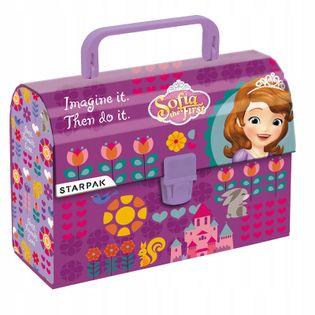 Kuferek kartonowy z rączką Jej Wysokość Zosia