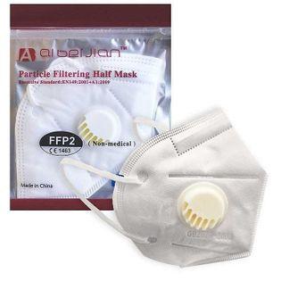 Maseczki, Maseczka ochronna FFP2 z filtrem 62510