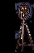 Lampa stojąca na trójnogu GEORGETOWN rusty