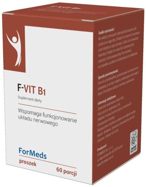 F-Vit B1 Witamina B1 Tiamina 50mg 60 porcji 48g ForMeds na Arena.pl