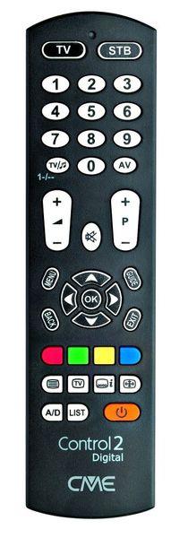Uniwersalny pilot do telewizora Meliconi Control 2 Digital zdjęcie 1