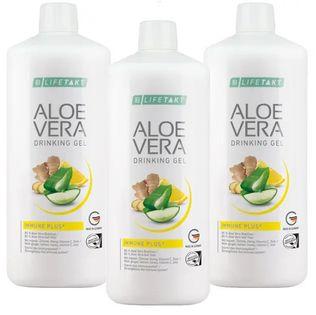 LR LIFETAKT Aloe Vera Drinking Gel Immune Plus 3pak