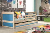 Łóżko RICO dla dzieci pojedyncze dla jednej osoby 190x80 + MATERAC zdjęcie 15