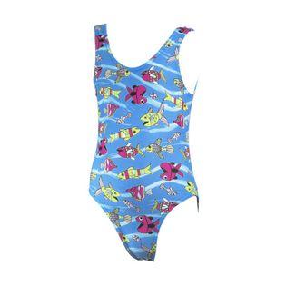 Kostium pływacki ALA Rozmiar - Stroje dziecięce - 122, Kolor - Stroje damskie - Ala - 01 - niebieski