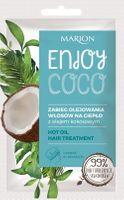 Marion Enjoy Coco Zabieg Olejowania Włosów Na Ciepło Z Olejem Kokosowym 20Ml