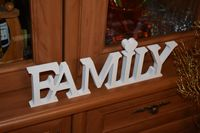 Napis 3D Family