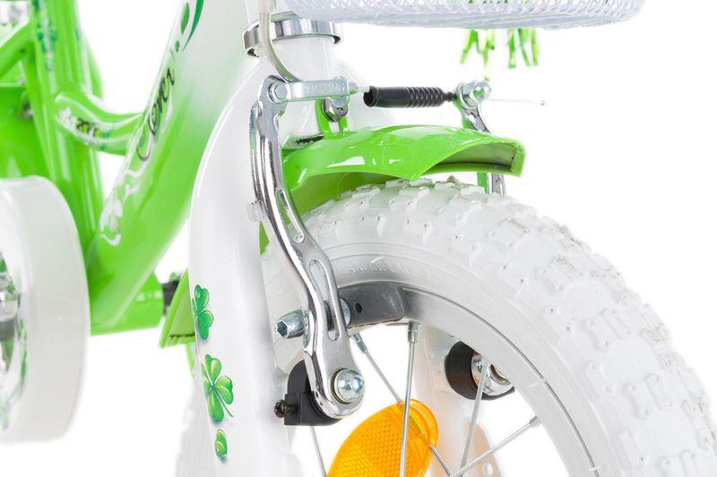 Rower 12 ROCK KIDS CLOVER zielony zdjęcie 4