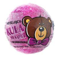 LaQ musująca kula do kąpieli dla dzieci z niespodzianką różowa
