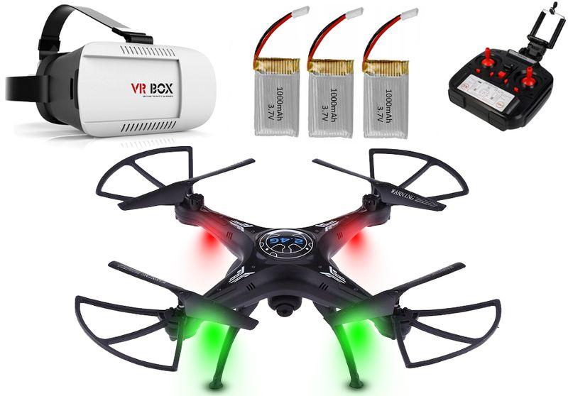 DRON TD06 z Kamerą WiFi+Okulary3D 3Aku x1000mAh 6Axis-Gyro Z282G zdjęcie 12