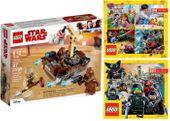 LEGO STAR WARS 75198 TATOOINE + 2 KATALOGI