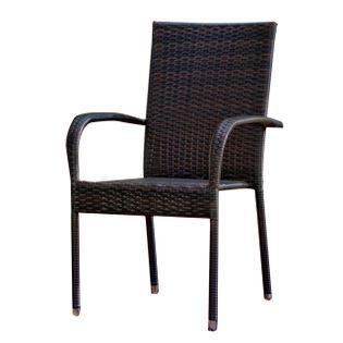 Krzesło ogrodowe z technorattanu