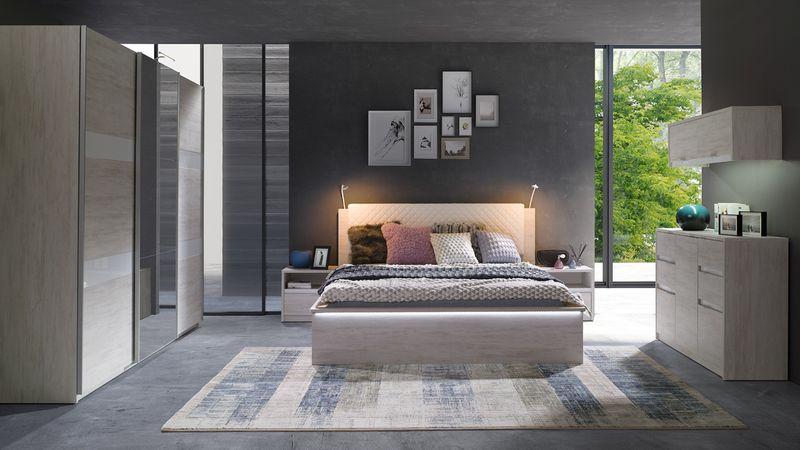 Nowoczesna Sypialnia Denver 13 Wygodne łóżko