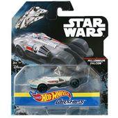 Hot wheels Star Wars Autostatki kosmiczne Millennium Falcon