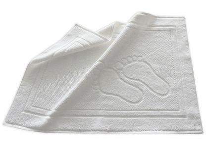 Dywanik łazienkowy Feet 50x70 stópki Greno biały