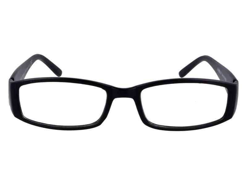 Czarne okulary zastępcze do czytania plusy +1.00 zdjęcie 4