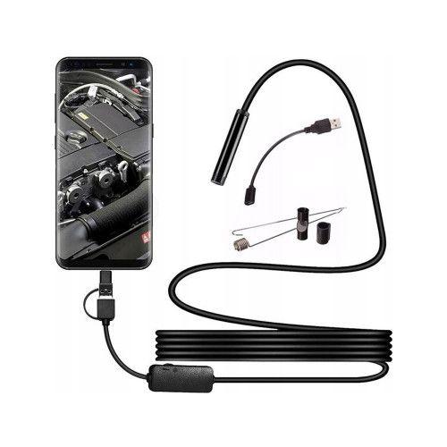 Endoskop kamera USB LED 10m na Arena.pl