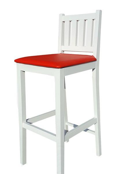 Biały Hoker H1 Krzesło Barowe, kuchenne od Producenta zdjęcie 1