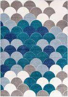 Dywan Carpetforyou Blue Pearls 140x200