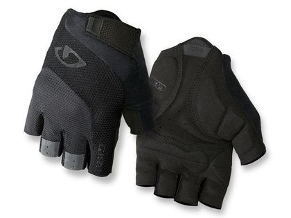 Rękawiczki męskie GIRO BRAVO GEL krótki palec black roz. XXXL (obwód dłoni od 275 mm / dł. dłoni od 215 mm) (NEW)