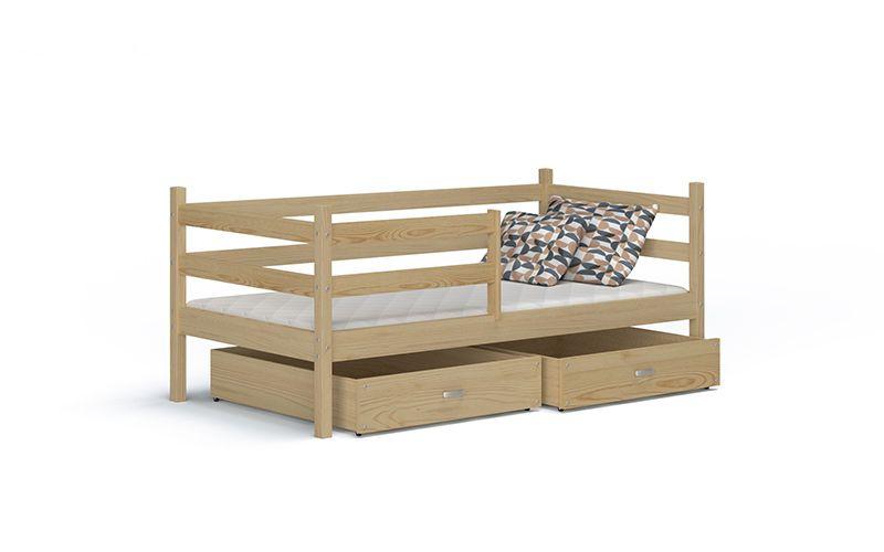 Łóżko wysuwane JACEK P  80x180  szuflady + materac zdjęcie 4