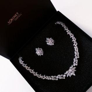 Komplet ślubny HERRA silver KOKONET 8-0350