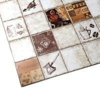 Panele Ścienne 3D PCV Kafle Mozaika,KAWA ESPRESSO