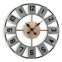 Zegar Ścienny Metal (5,5 x 80 x 80 cm)