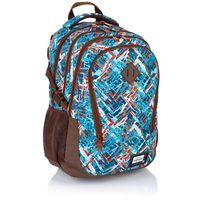 Plecak szkolny młodzieżowy Astra Head HD-85, w kolorowy wzór