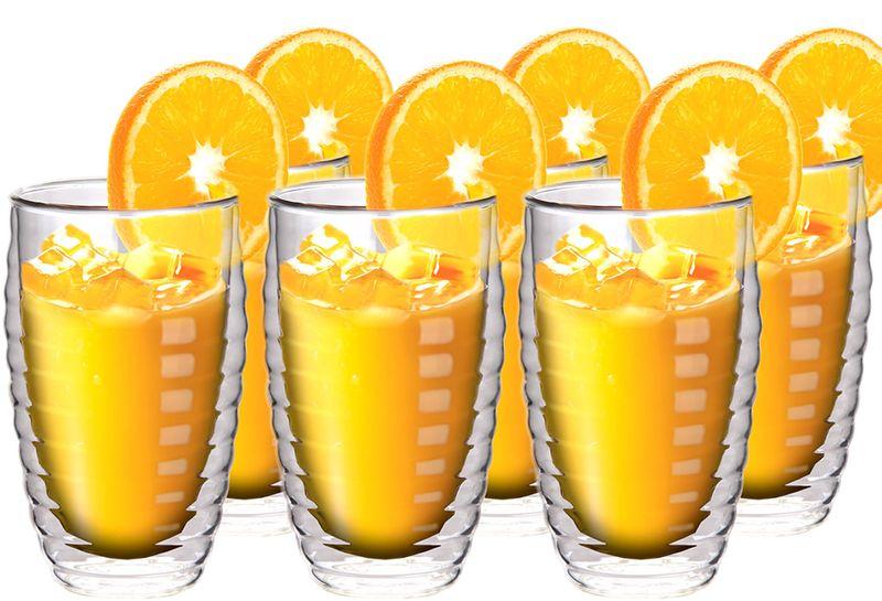 Szklanki Termiczne z Podwójną Ścianką do Napojów Napoi Soków Drinków 6 zdjęcie 1