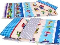 ŚPIWOREK do przedszkola i łóżeczka pościel BOBO kolorowe pojazdy