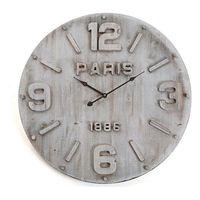 Zegar Ścienny Drewno MDF/Metal (4,5 x 60 x 60 cm)