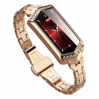 Smartwatch Zegarek Damski Złoty Watchmark Asystent