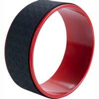 Pure2Improve Koło Do Jogi, 30 Cm, Czarno-Czerwone