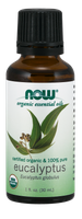 Eukaliptus Globulus Oil, Organiczny 30ml Nowfoods