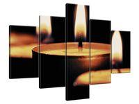 Obraz Drukowany 100x70 Płomyki - Tschiae  kompozycja  niezrównany