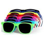Okulary przeciwsłoneczne WAYFARER nerdy kujonki # FIOLETOWE zdjęcie 2