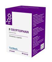 FORMEDS F-Tryptophan 350mg 60porcji SEN NASTRÓJ